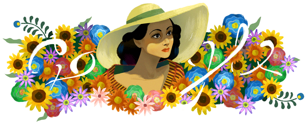 Google Celebrating Dolores del Río With Doodle