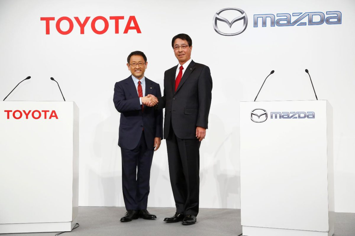 Toyota and Mazda to build a new $1.6B plant in U.S