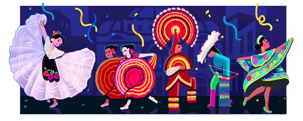Amalia Hernandez's 100th Birthday Google Doodle