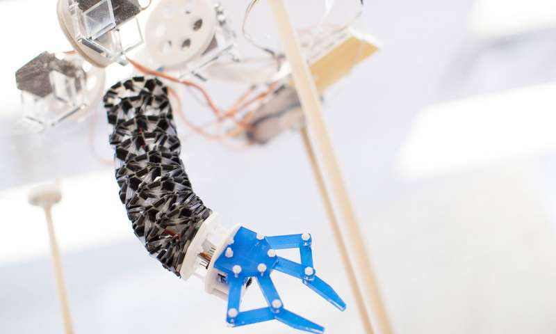 Case Western Reserve University researchers design soft, flexible origami-inspired robot