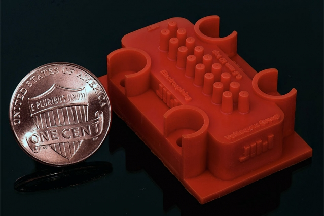 3-D-printed device builds better nanofibers