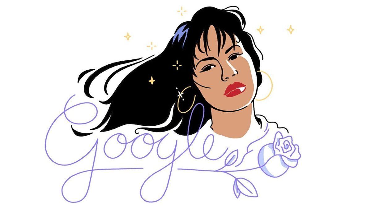 Google Celebrating Selena Quintanilla with Doodle