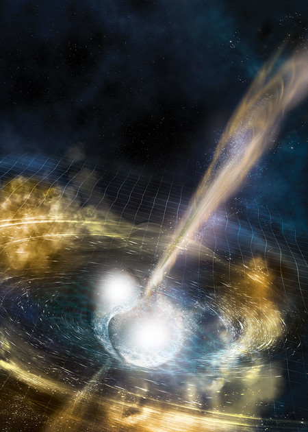 LIGO and Virgo Make First Detection of Gravitational Waves Produced by Colliding Neutron Stars