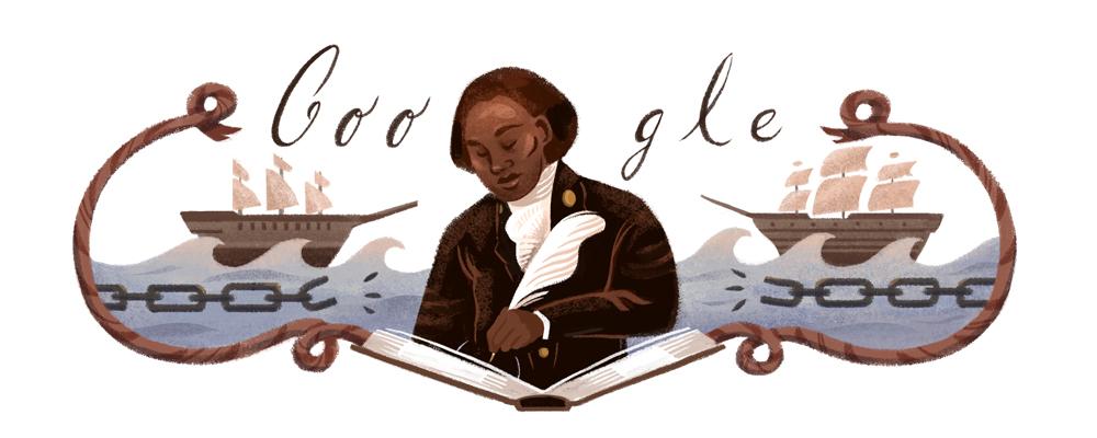 Olaudah Equiano's 272nd Birthday Google Doodle