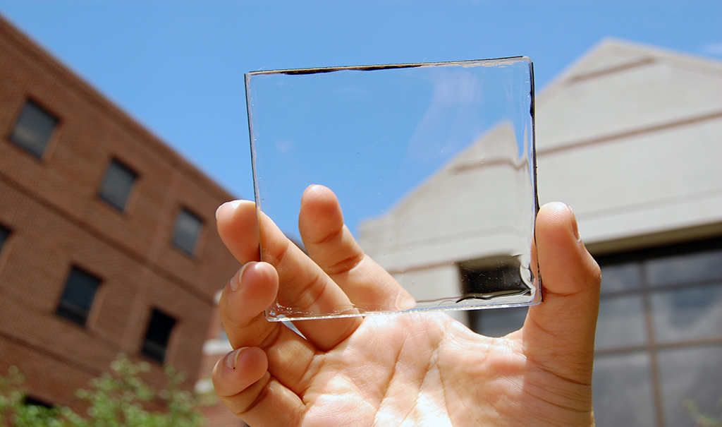 Transparent solar technology represents 'wave of the future'