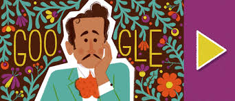 Pedro Infante's 100th Birthday Google Doodle