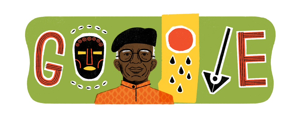 Chinua Achebe's 87th Birthday Google Doodle