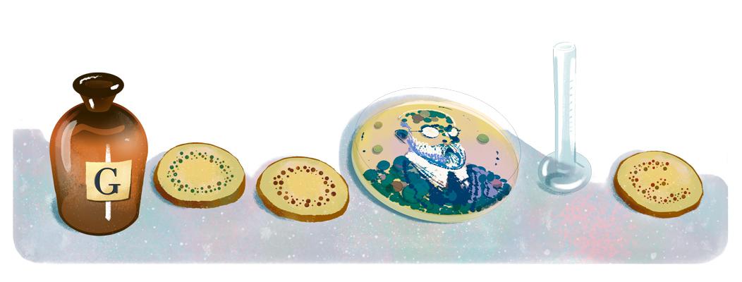 Celebrating Robert Koch Google Doodle
