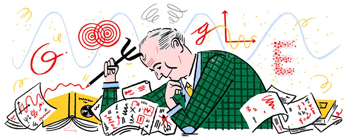 Max Born's 135th Birthday Google Doodle