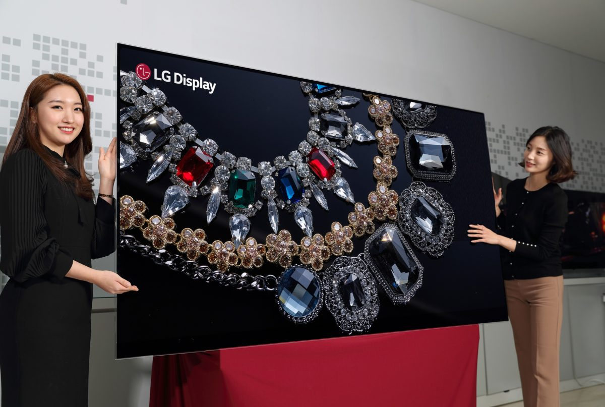 ​LG will show 88-inch 8K OLED display at CES 2018