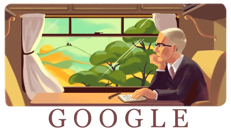 Alan Paton's 115th birthday Google Doodle
