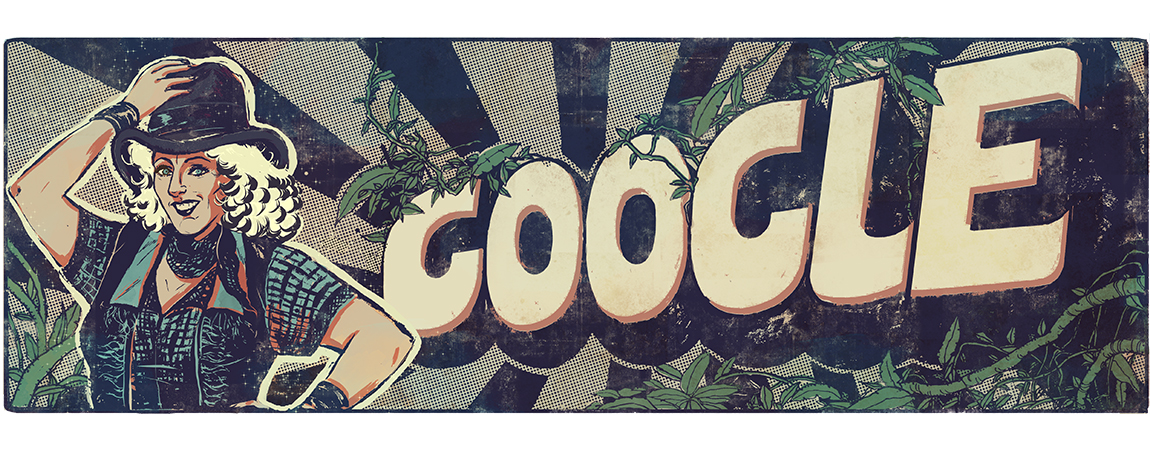 Fearless Nadia's 110th Birthday Google Doodle