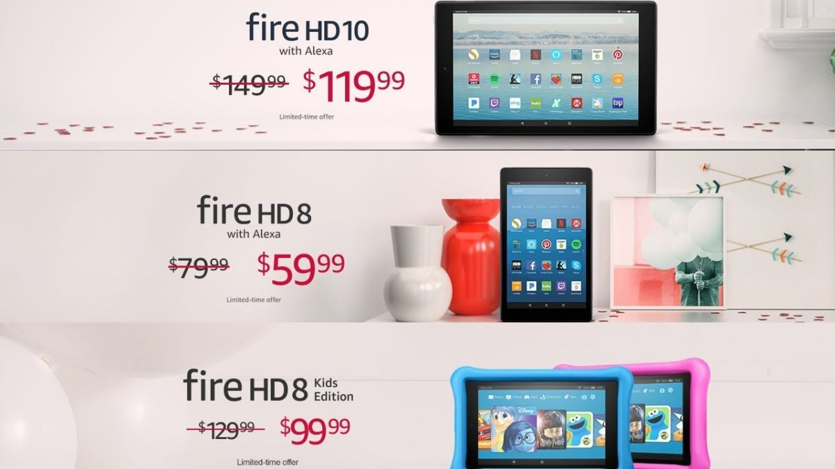 Amazon Offers Valentine's Day Deals for various Amazon Devices