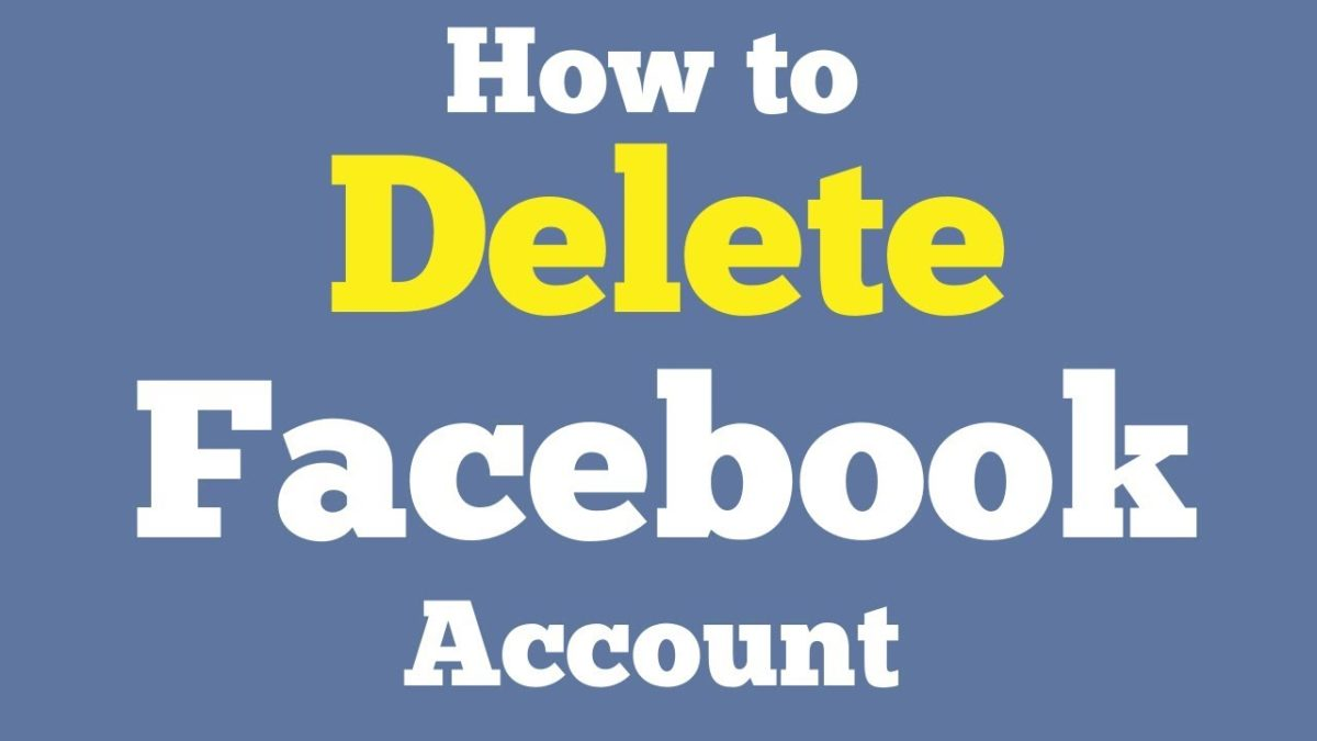 How to Delete Facebook Account permanently #deleteFacebook