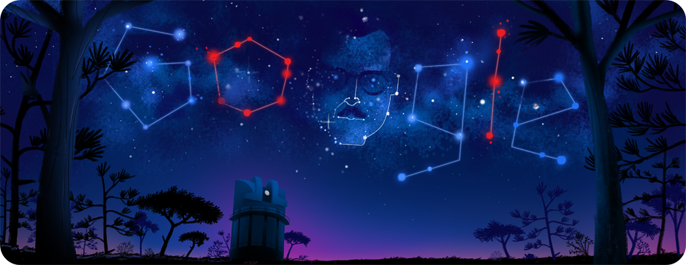 Google Doodle honors Guillermo Haro, who discovered stars