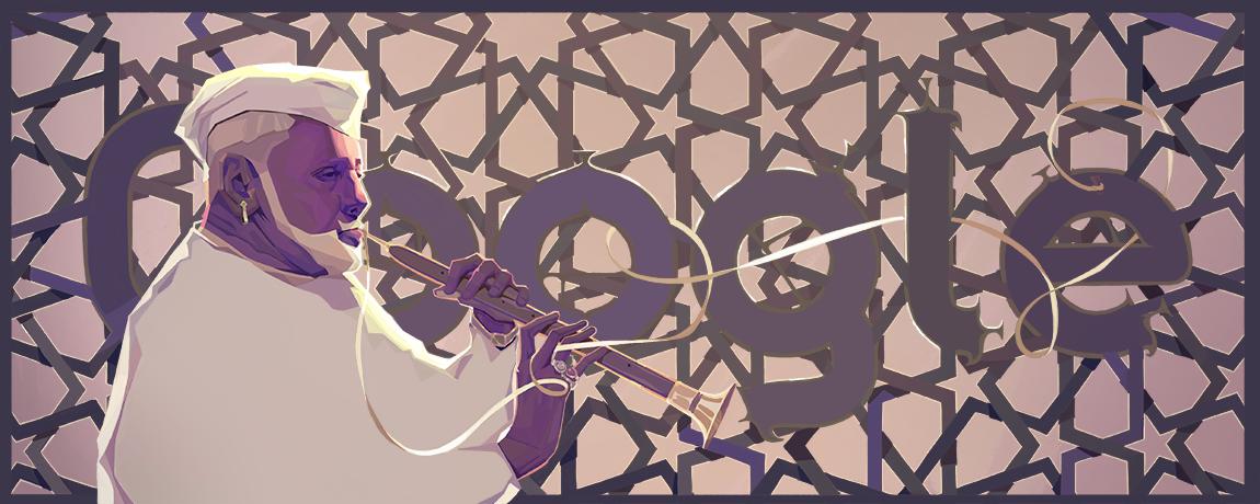 Google Celebrates Ustad Bismillah Khan's 102nd Birthday With Doodle