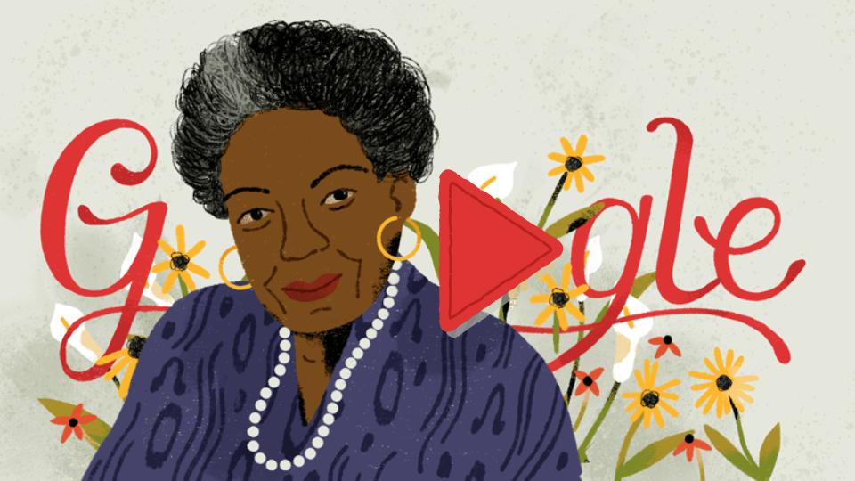 Google Celebrates Dr. Maya Angelou's 90th Birthday
