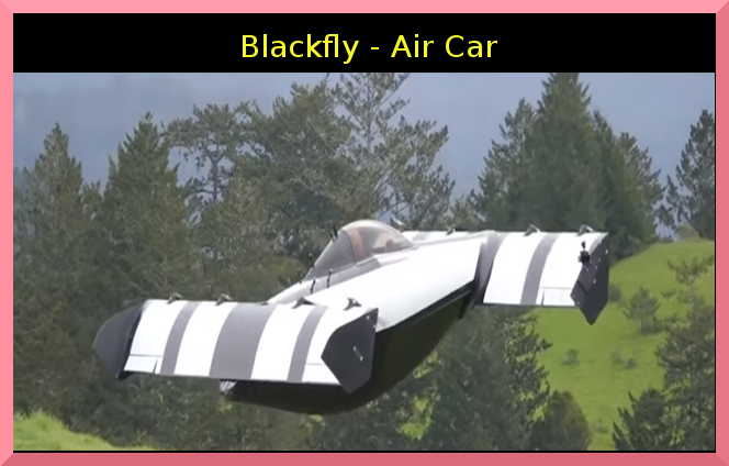 BlackFly – Anyone can Drive this personal VTOL without Pilot License