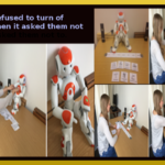 People refused to turn off Robot when it asked them not to
