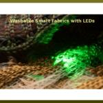 Washable Smart Fabrics with LEDs